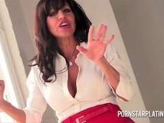 Hot latin milf Tara Holiday takes young stallion after a hard day