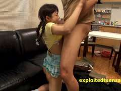 Japanese tramps love getting dicked and creamed