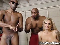 Verga grande, Negro, Doble penetracion, Interracial, Madres para coger