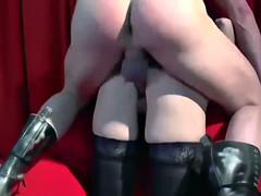 Czech MILF gets rough fucked doggy and cowgirl