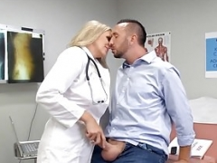 Ultimate Blonde Doctor Sexually available mom