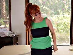 Penny Pax and her female masseuse