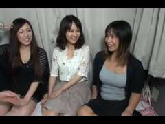 trio Mature Japanese Nymphs Deepthroat Plumb and Creamed (Uncensored)