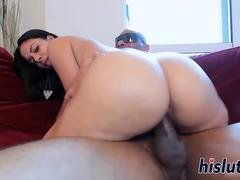 Big black cock for sexy Coco Valentine