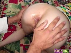 Alexa Novas anal drilled by step dad after blowjob