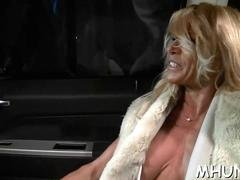 Big booty blonde whore gets rammed by a porn stud