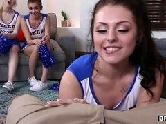 BFFS - Hot Cheer Babes Suck and Fuck Coach