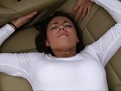 Backseat sticky creampie madness