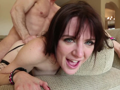 Hard and rough is how sexy Samantha Bentley likes it