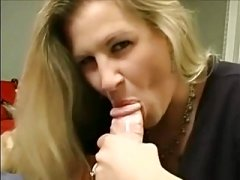 Hot chicks get their greedy mouths filled with jizz