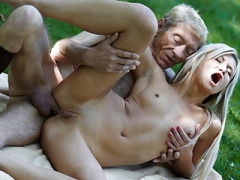 Old Young Porn Teen Gold Digger Anal Sex With Wrinkled Old