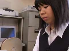 Japanese Office Employee Gets Seduced & Screwed