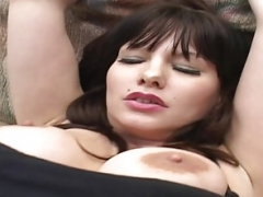 Big-breasted Sexually available mom loves her number one big black cock fucking