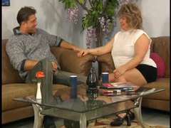 German big bbw fisted, toyed and pounded