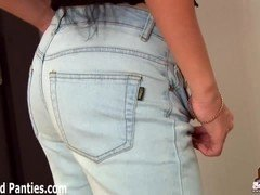 What do you think of the new skinny jeans I got