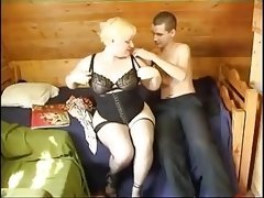 Old Female and moreover Immature Boy