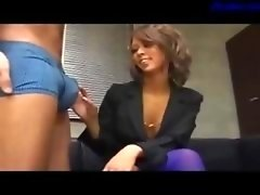 Hot Office Female Giving head On Her Knees Cum To Mouth Swallowing On The Floor In The Office
