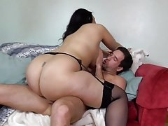 World greatest booty busty MOM covered by cum