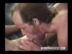 Homemade Video of Mature Amateurs Randy and Dave Sucking Dick