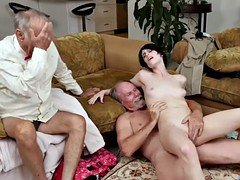 Horny sweet chick Alex Harper getting banged hard