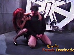 confused Stud leaves in the Mist a redhead bitch pleasures his cock