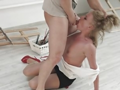 Dirty Flix - Anita - Office floozy takes a rough fuck