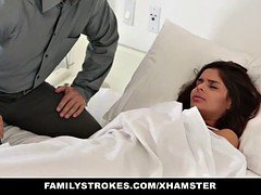 FamilyStrokes - Sucking Cock To Skip School