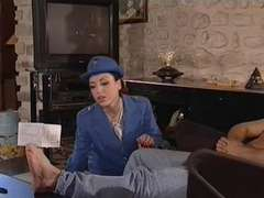 Vintage french ass fucking woman