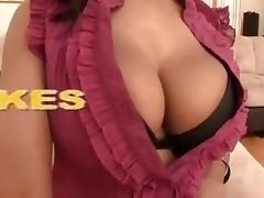 Youthful Brown Huge Bra buddies - P...