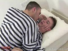 Fresh-faced boy abused by a horny older inmate