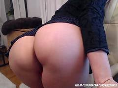 My stunning step mom masturbating for me with daddy on the phone