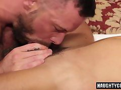 Latin gay flip flop with cumshot