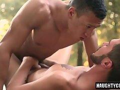 Big dick boy anal sex and cumshot