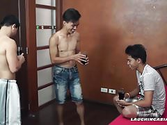 Twink Asian Boy Marcon Tied and Tickled