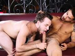 Hardcore gay straight dude Colton Grey and Vadim Black enjoys anal bareback