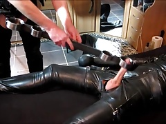 Rubber Slave and Master