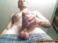 Starman X - Stroking big dick