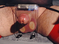 Ball torture and edging