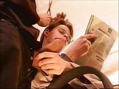 Wank the hot hairdresser