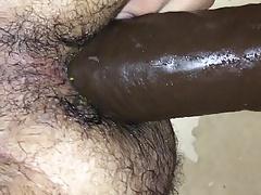 BAM BBC anal play hairy