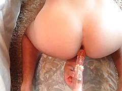 Bubblebutt Twink Gape With Dildo (POV)