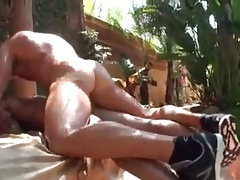 Alpha Muscle Top Fucking Outdoors