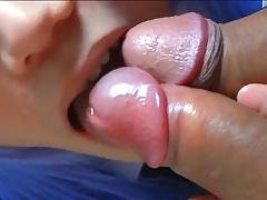 Asian Cosplay CD sucking 2 cocks
