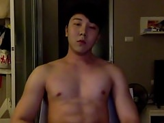 Monster cock Asian boy cum