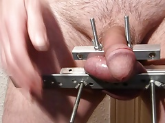 Balls Crushed & Cock Beaten