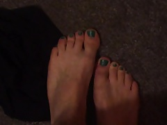Male toes in need of a juicy black cock