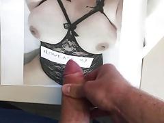 Cum on my wife
