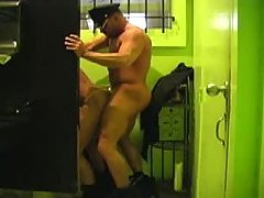 2 cops having sex in the bathroom