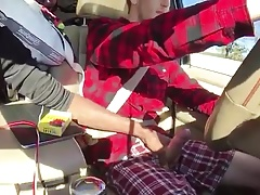Helping Hand While Driving