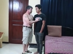 Daddy Barebacks Asian Boy Kris